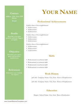 Best 22 Internship Resume Objective Examples You Can Use